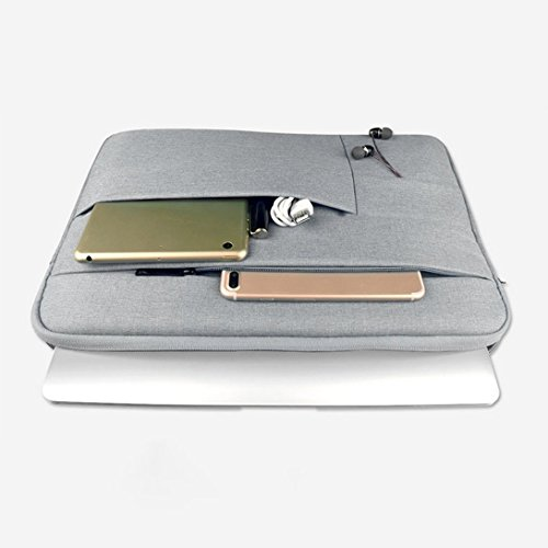 Heather Multifunctional Waterproof Case Computer Holder Sleeve Computer Swiftswan Grey Bag Computer w7zFFqa