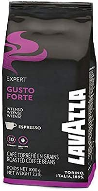 Lavazza. Bolsa de café en grano de 1 kg línea Bar Gusto Forte Intenso. Espresso Vending: Amazon.es: Hogar