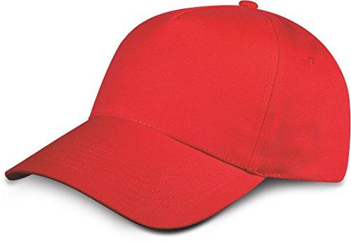 de velcro rojo con Shirtinstyle Gorra cierre unisex aw6wCqS