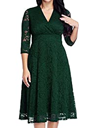 Womenu0027s Lace Plus Size Mother Of The Bride Skater Dress Bridal Wedding Party