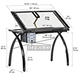 Futura Crafting, Drafting, Drawing Table with