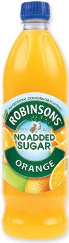 Robinson's Orange Fruit Drink, No Added Sugar, 1 Liter Plastic Bottles (Pack of 12) (No Sugar Added Fruit Juice compare prices)