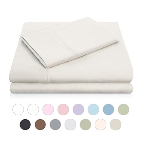 MALOUF Double Brushed Microfiber Super Soft Luxury Bed Sheet Set - Wrinkle Resistant - King Size - Driftwood - Discount King Size Beds