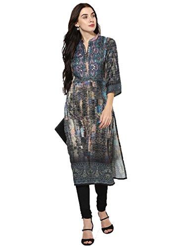 Lagi Kurtis Ethnic Women Kurta Kurti Tunic Digital Print Top Dress Casual Wear New Launch by (Top Dress Kurta Tunic)