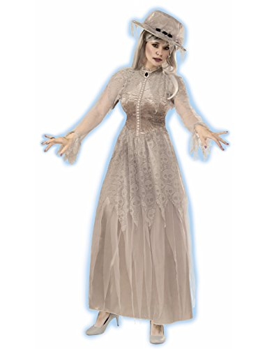 Forum 76048 Women's Victorian Ghost Costume, Standard, Multicolor, Pack of -