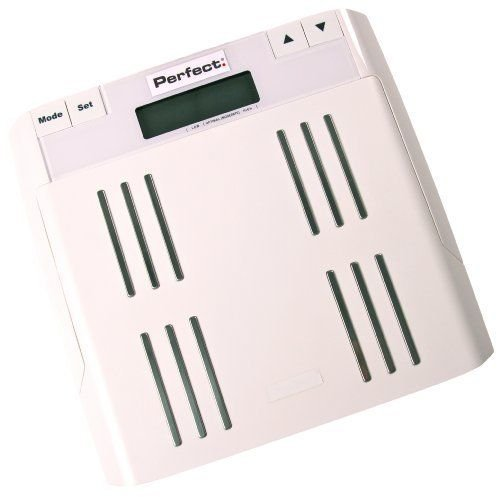 Perfect Fitness Body Fat Scale White New