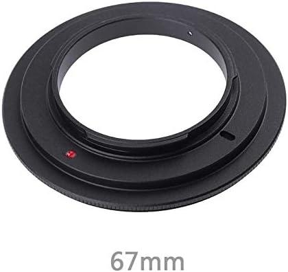 49 52 55 58 62 67 72 77mm Metal len adapter Macro Reverse Lens Adapter Ring for Nikon AI camera Mount D3100 D7100 D7000 D5100 PrinceShop