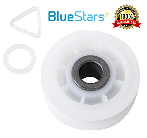 Idler Pulley Wheel (Ultra Durable 279640 Dryer Idler Pulley Replacement part by Blue Stars - Exact Fit for Whirlpool & Kenmore dryer - Replaces 3388672, 697692, AP3094197, W10468057)