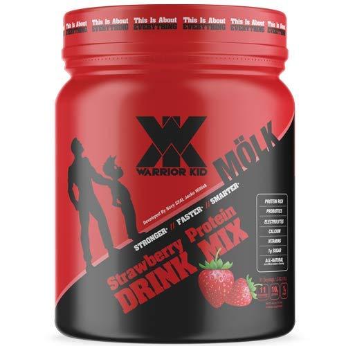 Warrior Kid Protein Drink Mix (Strawberry Milk) For Sale
