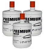 refrigerator water filters 9890 - Kenmore 46-9890 / GEN11042FR-08 Water Filter | LG LT500P Replacement | 3 Pack