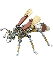 290Pcs DIY Mechanical Termite, 3D Puzzle Metal Insect Model Kit Assembly Crafts Home Decor