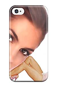 Quality AmandaMichaelFazio Case Cover With Cindy Crawford Model Nice Appearance Compatible With Iphone 4/4s