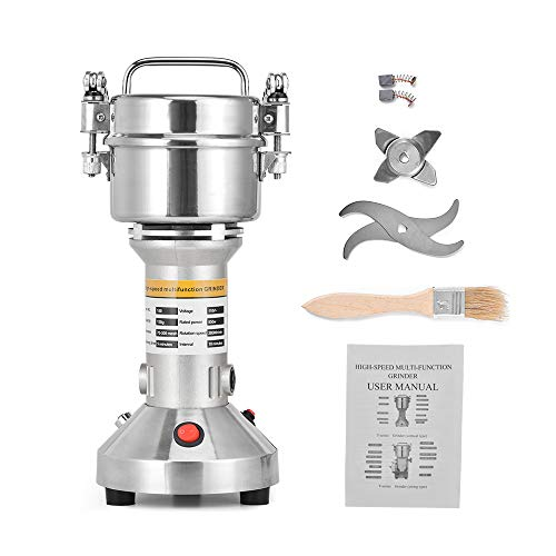 Herb Mill Spice - Giraffe-X 150g Electric Herb Grain Spice Grinder Cereal Mill Grinder Flour Powder Machine,Portable High Speed
