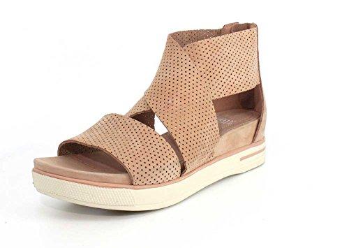 Eileen Fisher Kvinners Sport 3 Sneaker Sandal Toffee Nubuck