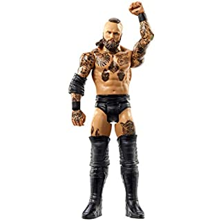 WWE Aleister Black Basic Series #108 Action Figure in 6-inch Scale with Articulation & Ring Gear