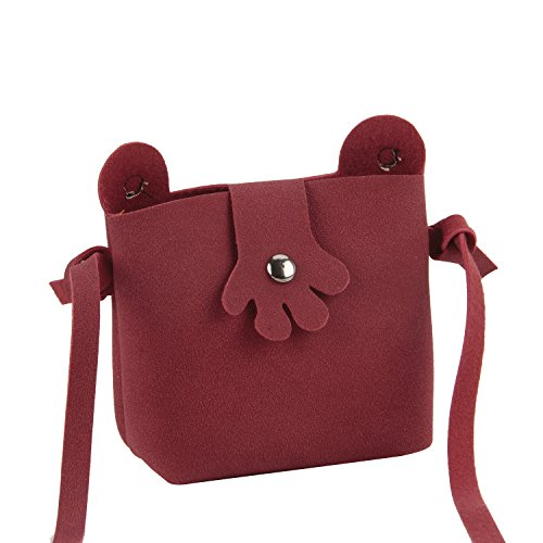 Handbags Clutch Kids Wallet Mini Cell Lovely Frog Yrs 8 Gift Toddlers for Case Crossbody Small Red Design Candies Bags Holder 2 Shoulder Purse Christmas Great Birthday Phone vv8qfa