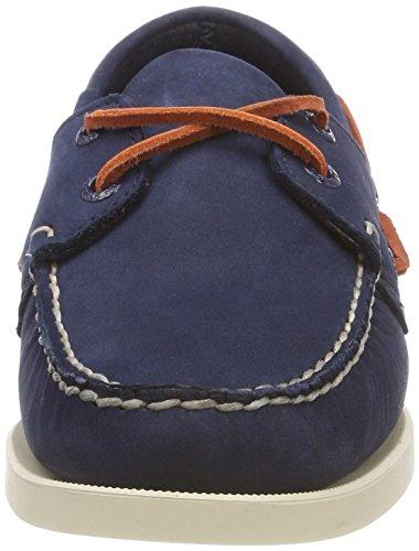 Sebago Damen Kades Nbk W Bootsportschuhe Multicolour (marine / Koraal N13)