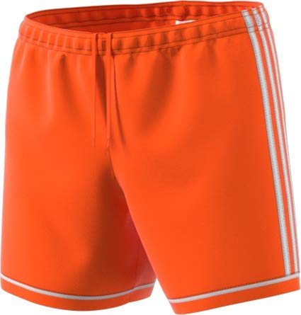 adidas Squadra17 Shorts Women, Orange/White, Large by adidas