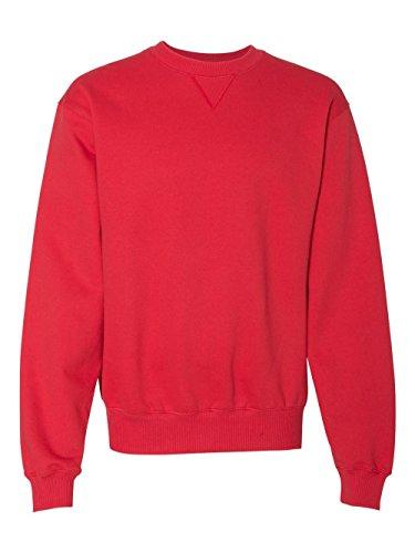 Sweatshirt Pullover Scarlet (Champion Men's Max Crewneck Full Athletic Fit Sweatshirt, scarlet, X-Large)