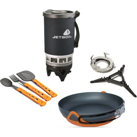 Jetboil Backcountry Gourmet Cooking System Set For Sale