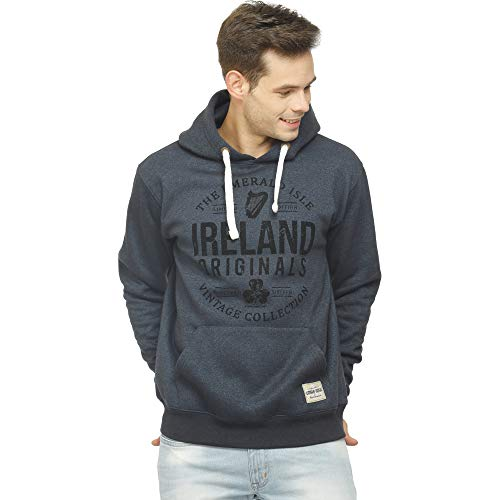 d6b83c2a5 Irish Connexxion Pullover Hoodie Navy with Ireland Originals Nineteen  Sixteen Collection Design