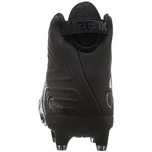 adidas Originals Men's Freak X Carbon Mid Football Shoe, Black/Black/Black, 9.5 Medium US