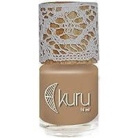 Ate de Mamey - Esmalte de uñas Kuru color Nude Oscuro 12free libres de parabenos