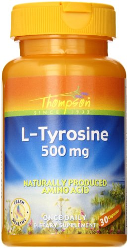 Thompson L-Tyrosine, 500 Mg, 30 Count