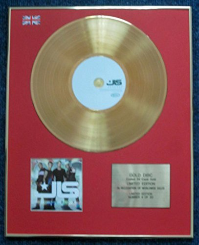 JLS - Limited Edition CD 24 Carat Gold Coated LP Disc - (Century Gold Music Box)