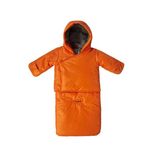7AM Enfant BagOcoat Jumpsuit Sacs, Orange Peel, Small