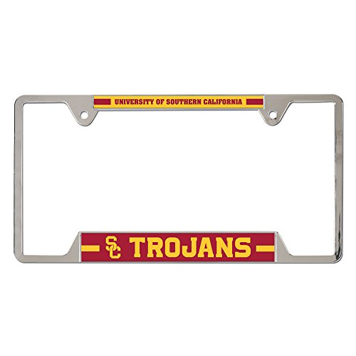 WinCraft NCAA USC Trojans License Plate Frames, 27170010