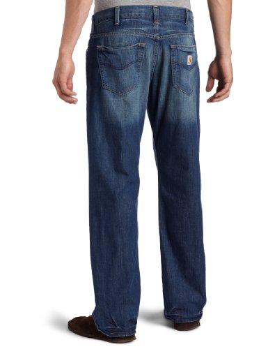 c295deb3 Carhartt Men's Series 1889 Loose Fit Jean Straight Leg at Amazon Men's  Clothing store: