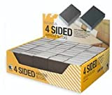 Indasa 4 Sided Sanding Blocks, Part# 3200, 36 Grit, Pack of 50, 98 x 69 x 26mm
