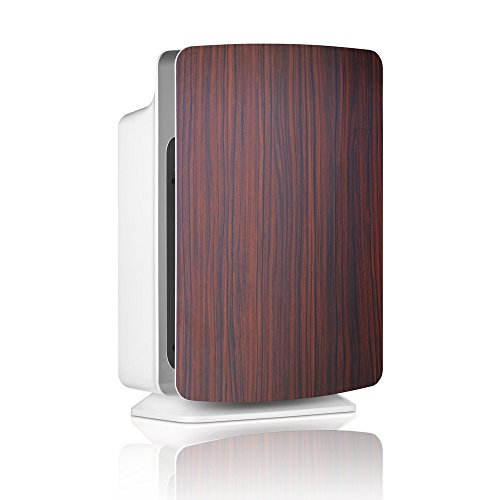 Alen BreatheSmart Customizable Air Purifier with HEPA-Pure Filter for Allergies and Dust (Rosewood, 1-Pack)
