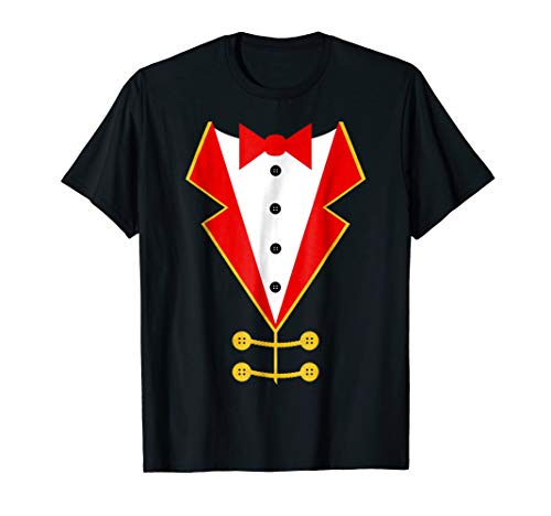 Ringmaster Costume Shirt for Circus Theme Party]()