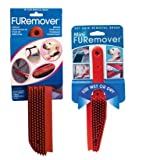 Evriholder FURemover Pet Hair Removal Brush Combo-Large and Mini, My Pet Supplies
