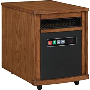 Comfort Smart Mighty Oak 1000 Sq Ft Portable Infrared Heater - 10QH8000-O115