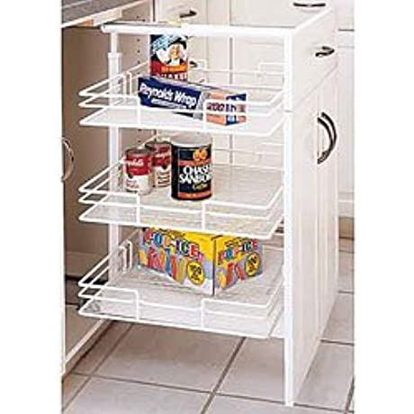 Rev A Shelf 5243 09N CR 43 3 8 50 3 4 Pantry Pull Out Chrome