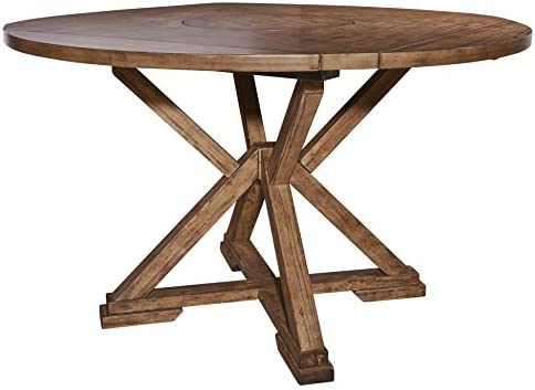 Powell Furniture Cohen Dining Table, Oak: Amazon.ae