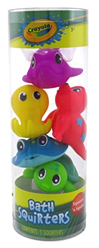 - Crayola Bath Squirters 5 Count (2 Pack)