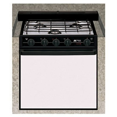 Atwood Mobile Products52275 Wedgewood Black 21quot Ups Oven Range 3 Burner