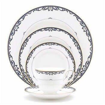 - Lenox Royal Scroll Gold Banded Bone China Cup