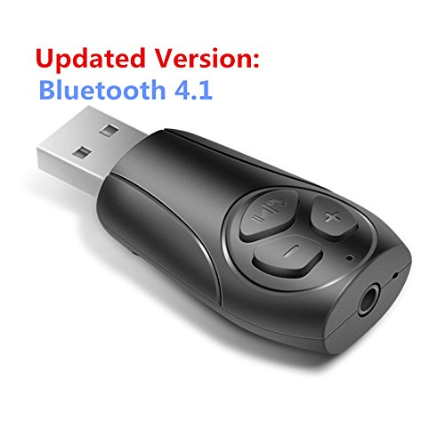 USB Bluetooth 4.1 Receiver Adapter for Car Audio Stereo/Speaker/Headphone Music Car Stereo Receiver Adapter