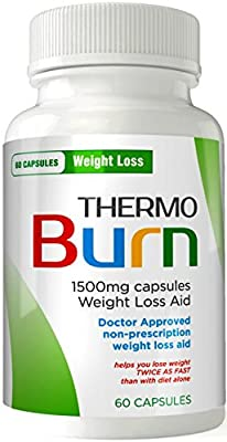 ThermoBurn Diet Pills - 1500mg PS-213 Weight Loss Formula - DOCTOR APPROVED - Appetite Suppressant - Weight Loss Pills - Garcinia Cambogia Extract