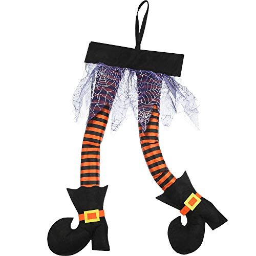 Halloween Witch's Legs, Wicked Novelty Witch Legs, Plush