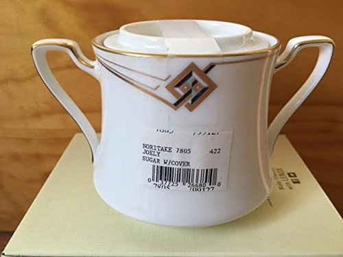 Noritake Joely Sugar Bowl with Lid