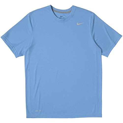 - Nike Mens Athletic Active Dri-Fit Tee Shirt X-Large Blue