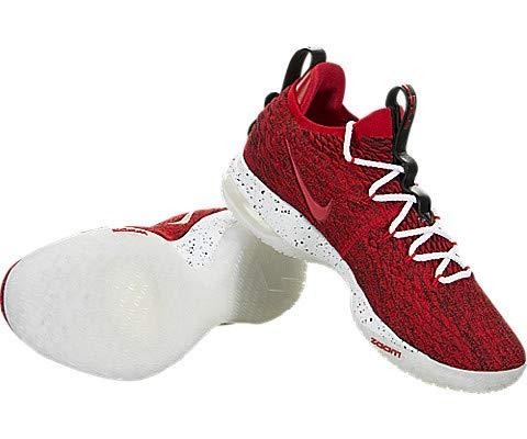 Nike Lebron XV Low University Red/White-Black 9 M US by Nike (Image #2)