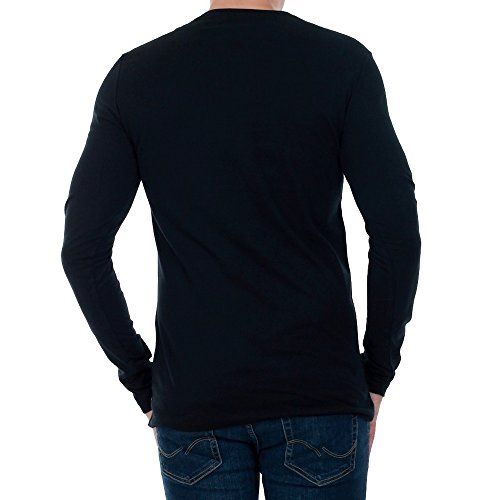 Tee Klein shirt Longues Jeans Hommes T Noir Manches Tributo J30j305664 Calvin PFw8q8