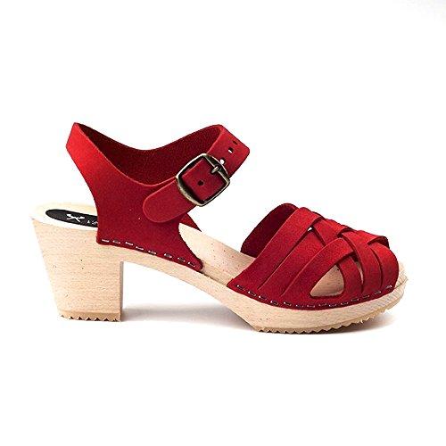 L'ATELIER SCANDINAVE - Sandalias de vestir para mujer Rojo